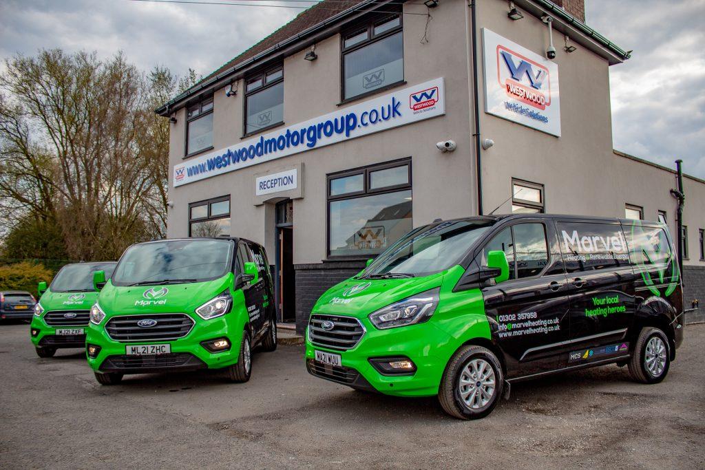 Westwood Motor Group Fleet Van Hire