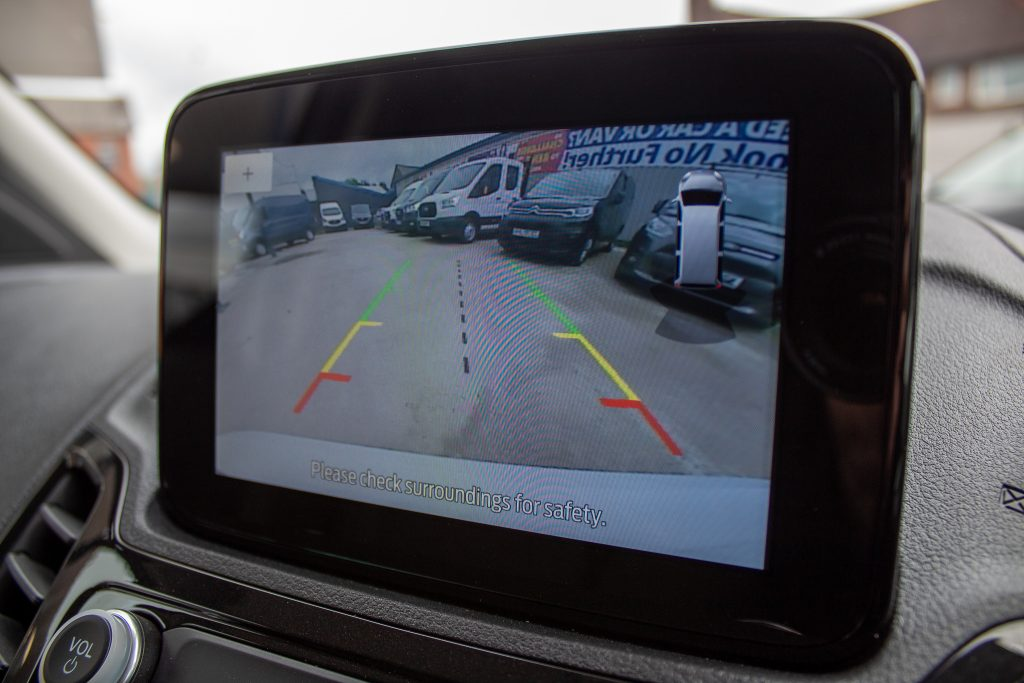 Ford Transit Connect Reverse Camera