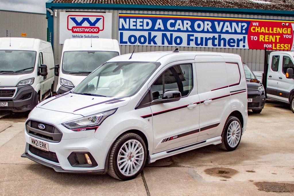 Top of the range van hire wigan