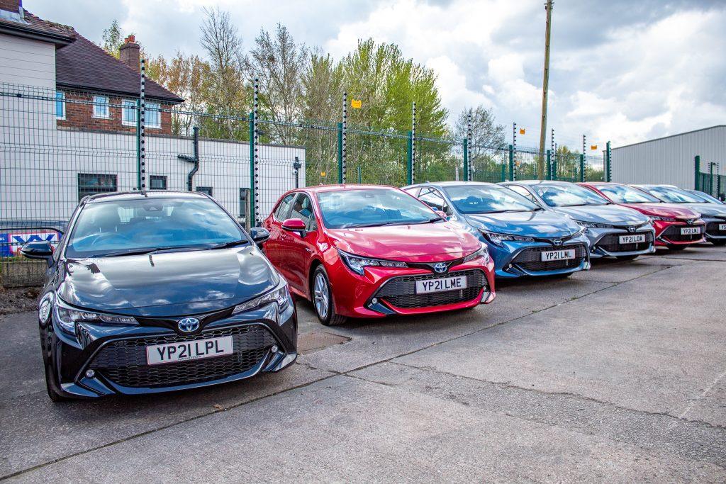 Car Hire Bolton Toyota Corolla Hybrid