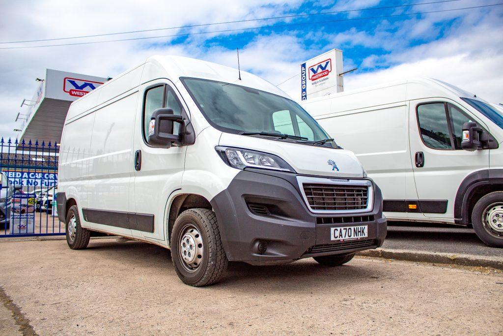 Long Wheelbase Van Hire In Wigan