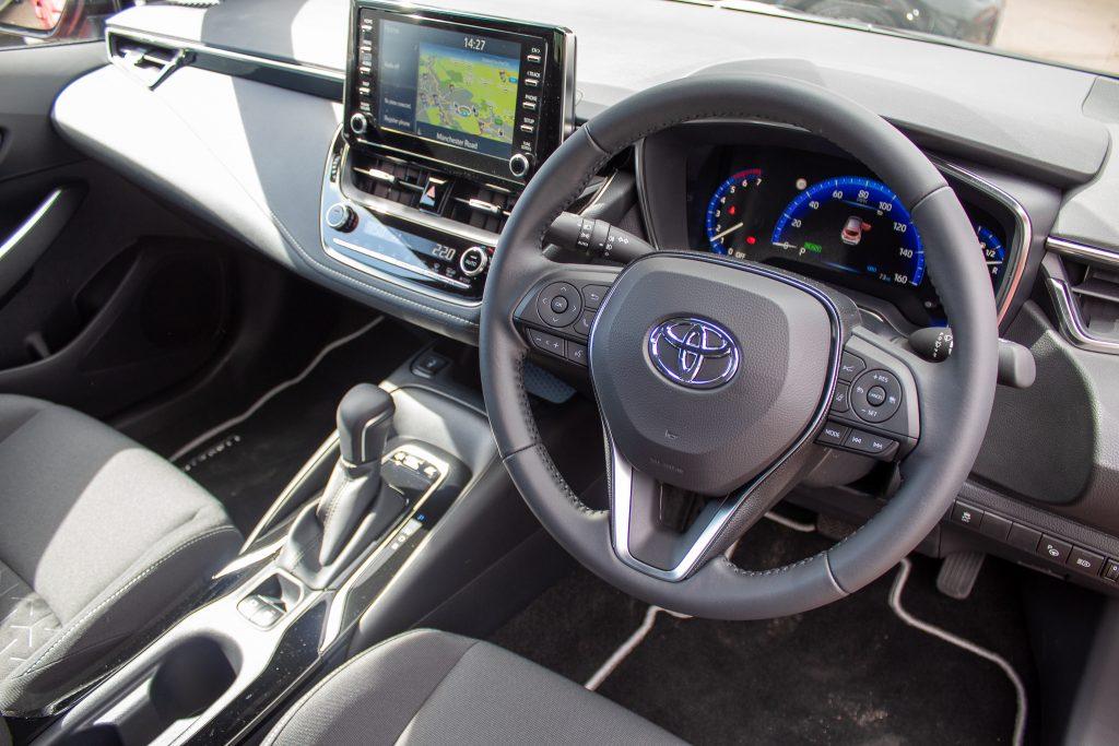 Toyota Corolla Hybrid Dashboard