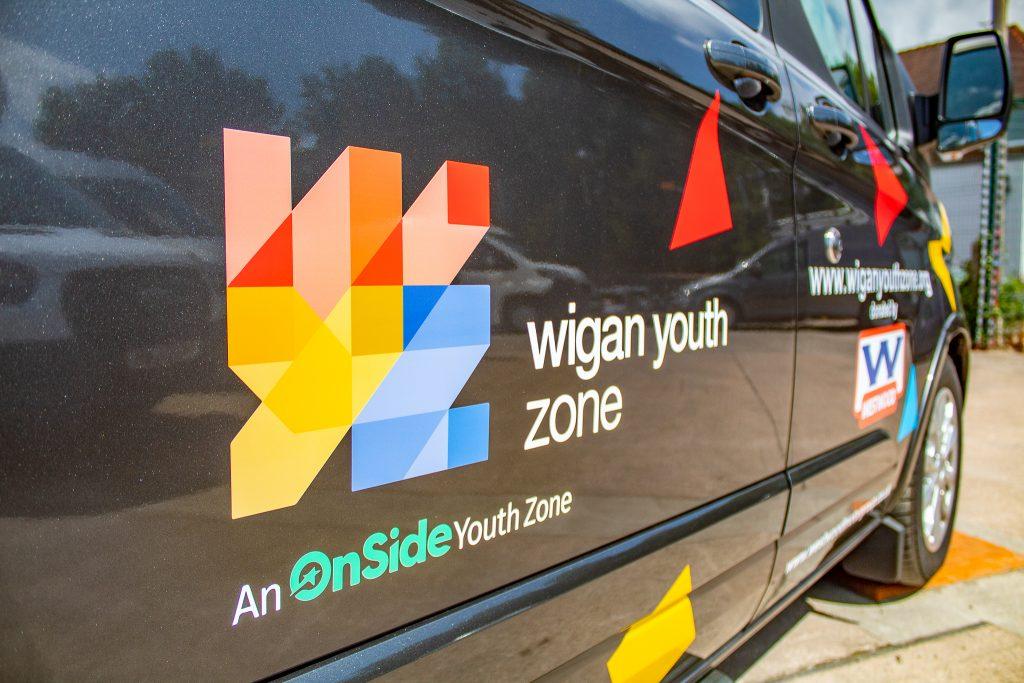 Wigan Youth Zone Logo