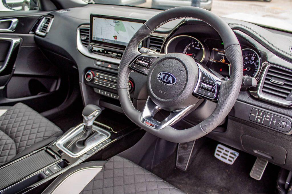 Kia Proceed GT-Line Dashboard