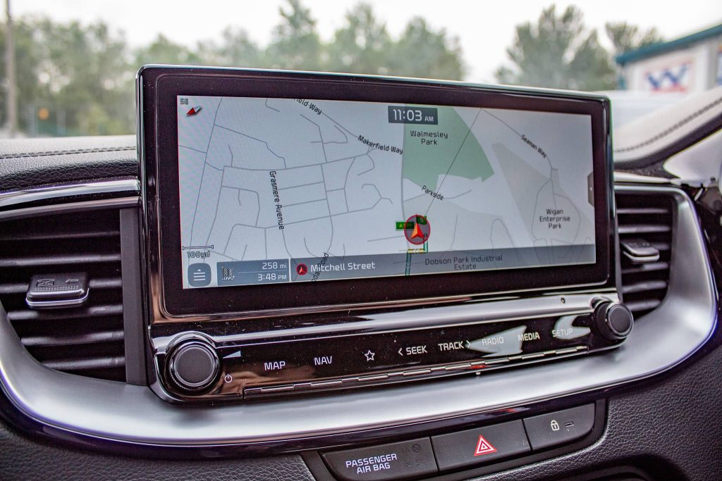 cars for hire with sat nav