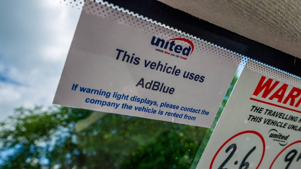 Adblue Warning DEF